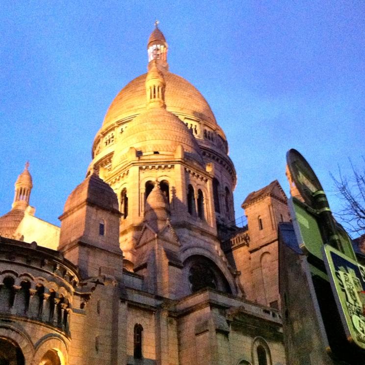 Basilika Sacré-Coeur de Montmartre - Paris, 2015.