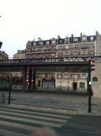 Metro rails (Paris)