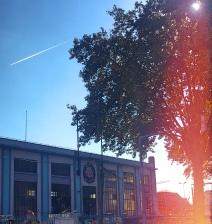 L'usine élévatoire de Clichy – la première du réseau. Depuis 1869 elle envoie les eaux dans une conduite sous la Seine.