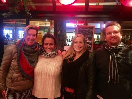 Team Le Chat Sur La Banquette f.l.t.r. Heike Fürst, Kristin Tiffert, Sinah Vonderweiden, Thomas Makoben