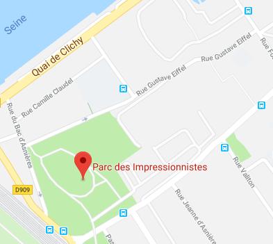 Parc des Impressionnistes