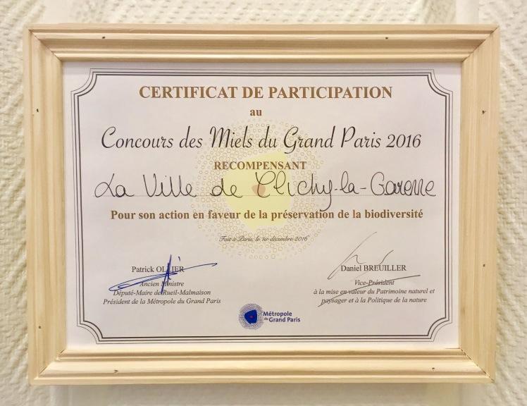MielDeClichy_ConcoursCertificat