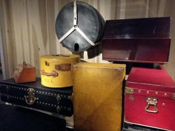 Galerie Louis Vuitton - anciennes malles