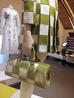 La mode et le sac en damier
