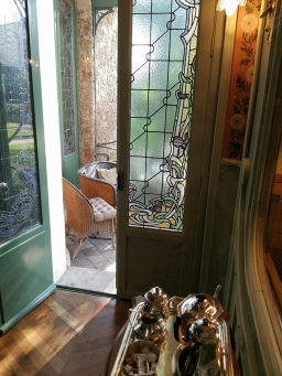 Chez Louis Vuitton - térasse intime