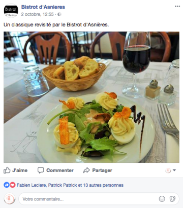 Bistrot Asnieres